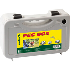 Brunner Peg Box Stick - Accessoire tente - 20 pièces 20 cm gris
